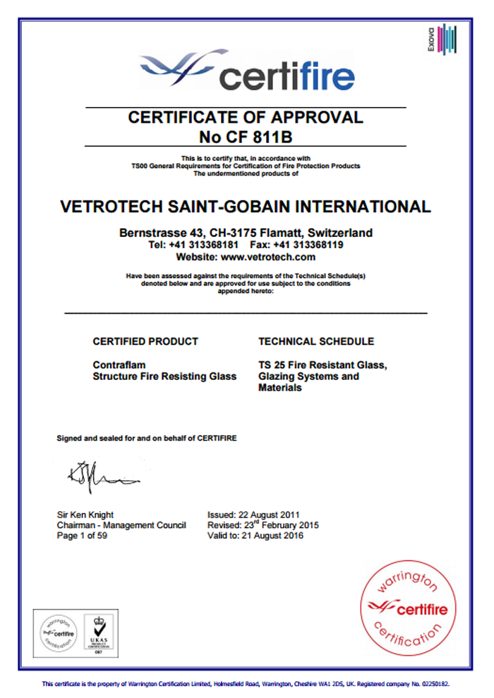 Vetrotech-Saint-Gobain-International-Certificate-CF811B