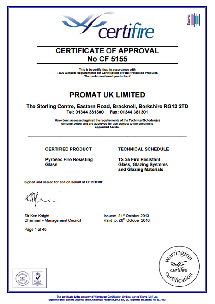 certificate-of-approval-promat-uk